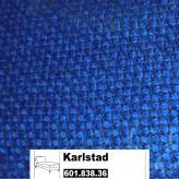 IKEA Karlstad Bezug für Recamiere (Anbau) in Korndal mittelblau 601.838.36