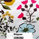 IKEA Klippan Bezug für 2er Sofa in Blomstermåla bunt 602.320.78