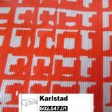 IKEA Karlstad Bezug für 3er Sofa in Husie orange 602.547.01