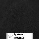 IKEA Tylösand Bezug für die Recamiere links in Kungsvik schwarz 800.731.20