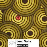 IKEA Lund Valla, Bezug für 3er & Kissen in Alme schwarz/grün 800.922.27