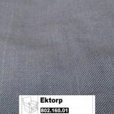 IKEA Ektorp Jennylund Bezug für Sessel in Svanby grau 802.160.01