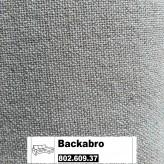 IKEA Backabro Bezug für 3er Bettsofa + Recamiere in Dansbo dunkelgrau 802.609.37