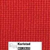 IKEA Karlstad Bezug für Recamiere (Freistehend) in Korndal rot 901.238.03