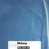 IKEA Ektorp Bezug für 2er Sofa in Genarp blau 902.524.42