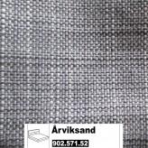 IKEA Årviksand Bezug für Boxspringbett 160x200cm in Isunda grau 902.571.52 (90257152)