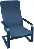 IKEA Kimsta Sessel aus Schichverleimten Holz in schwarz (ähnl. Poäng)