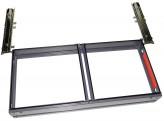 """Ikea Effektiv MAPPENRAHMEN """"Altes System"""" für Aufsatz 84,5x40cm"""
